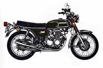 moto honda 350